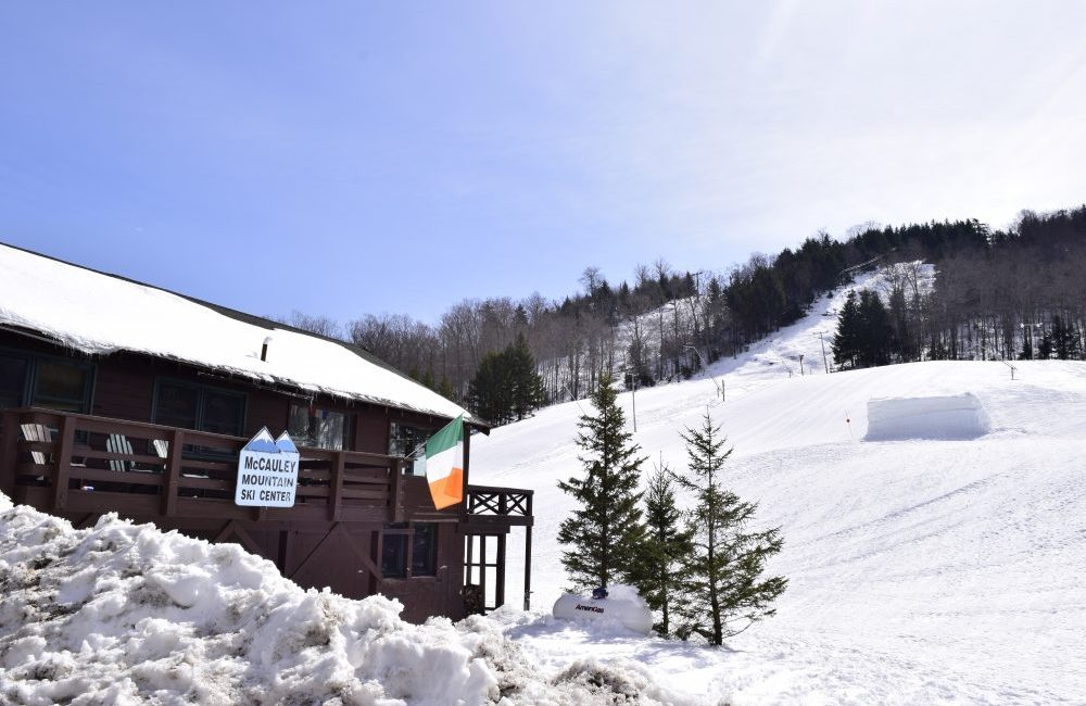 Picture of the Chalet at McCauley Mountain Ski Center.
