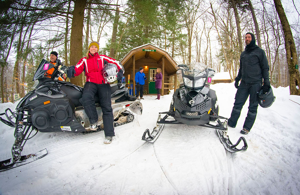 Old Forge Camping Resort - Winter