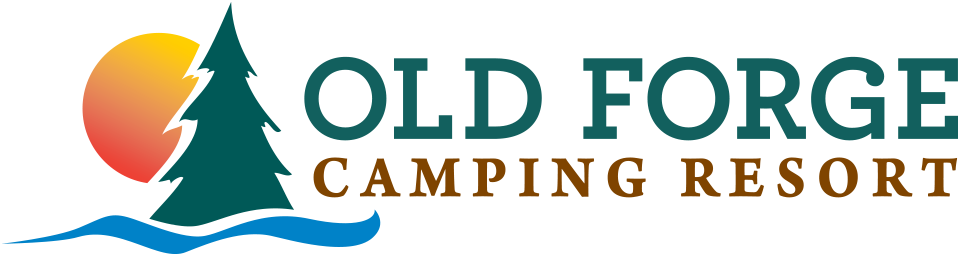 Old forge camping resort logo in color