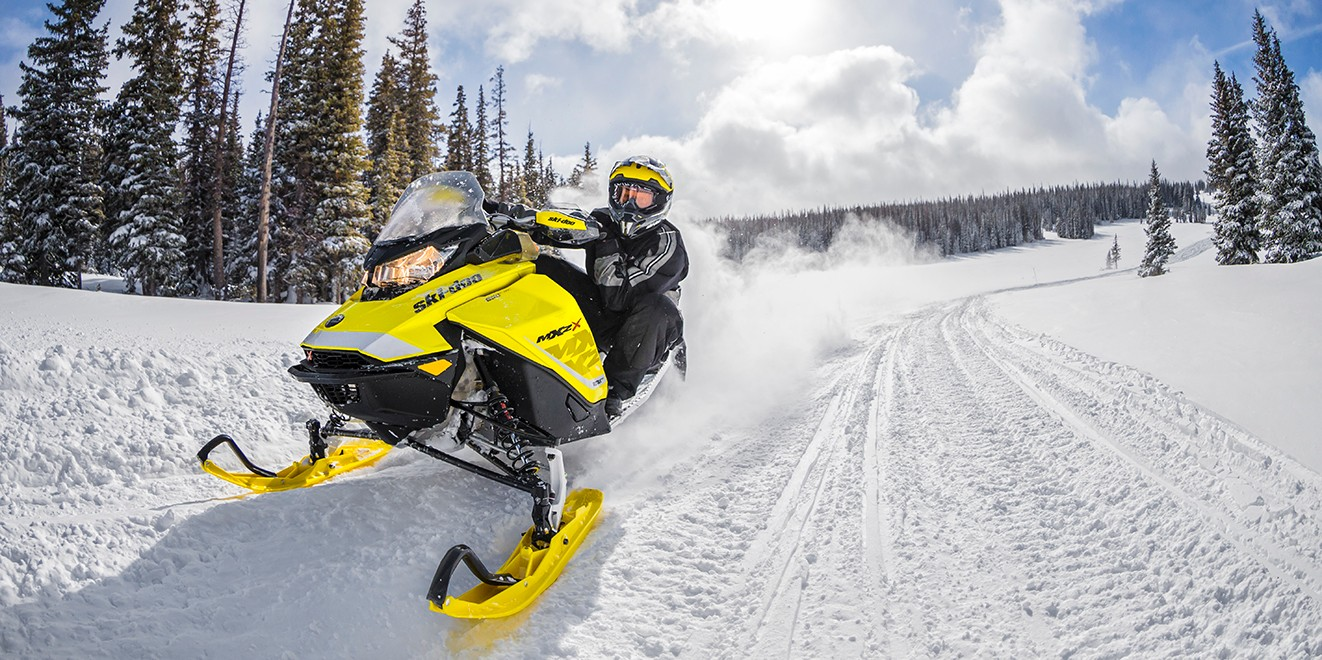 Explore the many miles of groomed snowmobile trails Old Forge and Inlet has to offer through some of the most pristine scenery in New York!